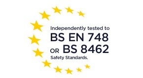 Independently Tested to BS EN 748/8462
