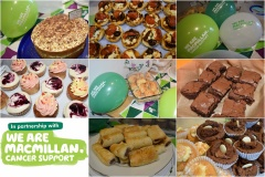 Macmillan Coffee & Cake Morning Fundraising