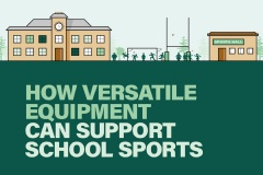 How versatile equipment can support school sports