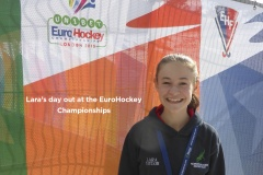 Harrod UK help Local player to realise hockey dream at EuroHockey 2015.