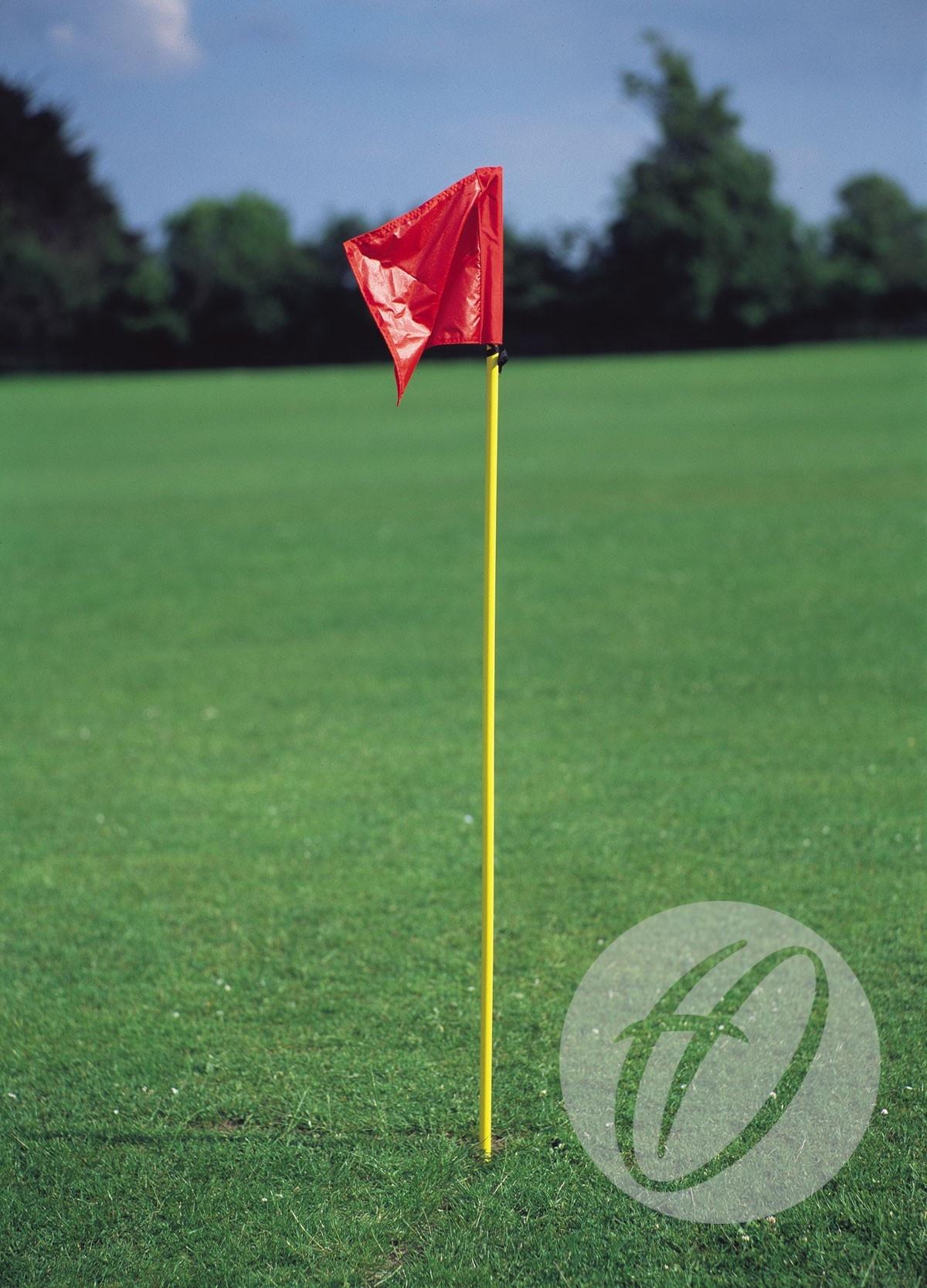 Yellow Flexible Pvc Pole With Spike Harrod Sport