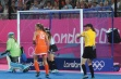 London 2012 Blue Integral Weighted Hockey Goal