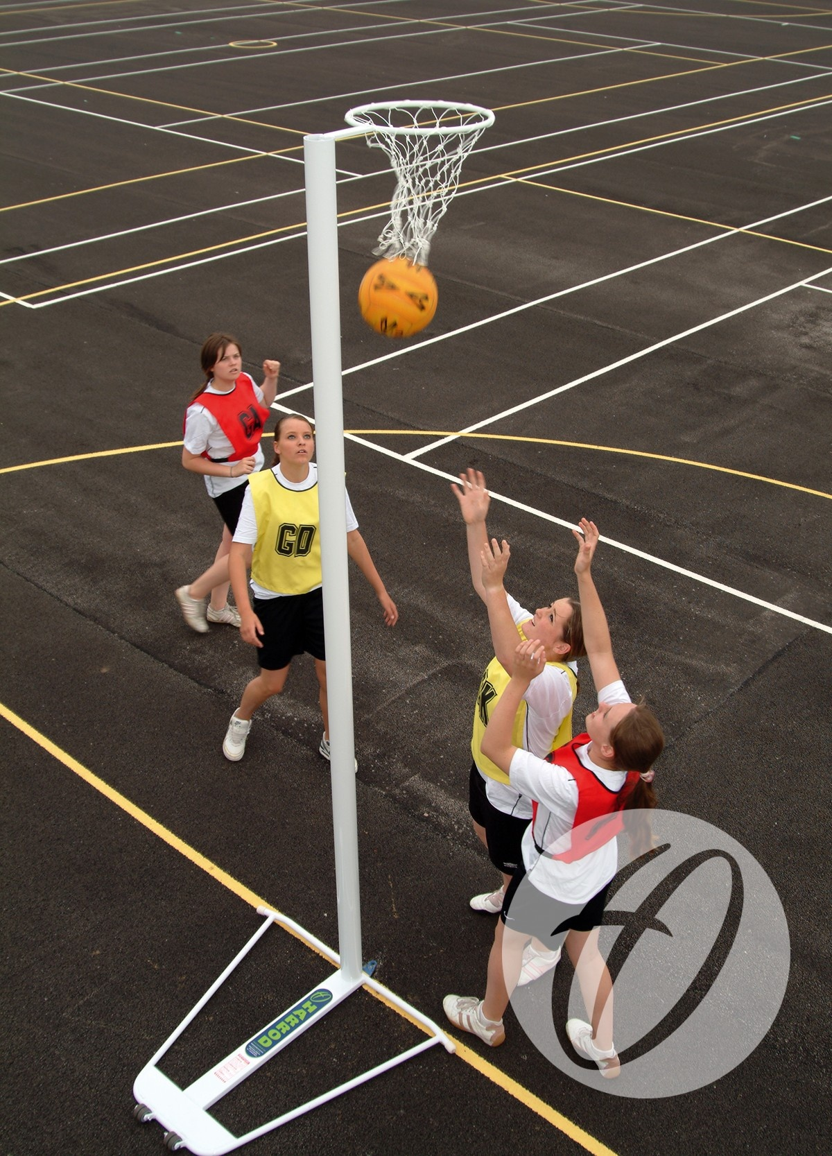 Practice White Netball Nets Harrod Uk