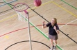 Single Pink Netball Post - Freestanding, 10mm Ring