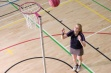 Pink Netball Posts - Freestanding, 16mm Ring