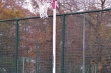 Pink Netball Posts - Socketed, 16mm Ring