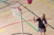 Pink Regulation Netball Posts - C/W Locking Sockets