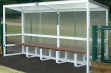 Aluminium Team Shelter - 4m Fixed