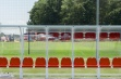 Premier Team Shelter - 5m Red Seats Fixed