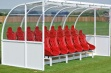 Elite Team Shelter 5m red