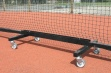 Freestanding Tennis Trolleys Black