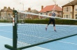 Freestanding Tennis Post Green