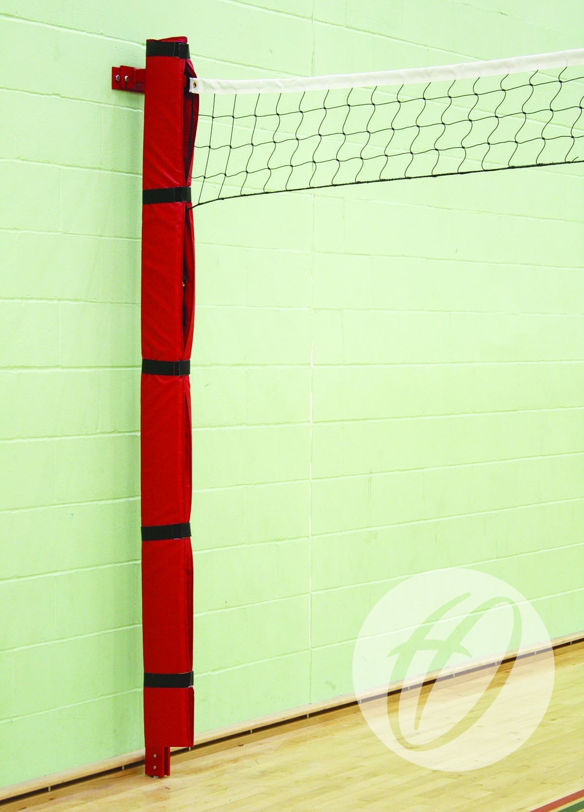 Wall Mounted Volleyball Posts Harrod Sport